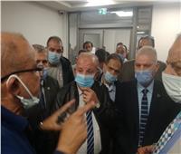 رئيس مصلحة الجمارك يتفقد العمل بمركز الخدمات اللوجستية بميناء الإسكندرية البحري