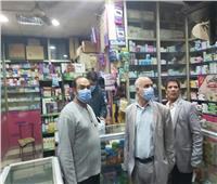 تحرير 11 مخالفة لصيدليات تخزن أدوية منتهية الصلاحية بشبرا الخيمة