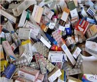 تموين الفيوم يضبط 2000 علبة أدوية منتهية الصلاحية