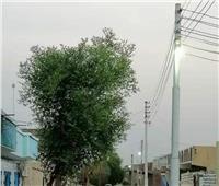 عودة «النور» بشوارع العلاقى بأسوان