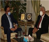 محافظ جنوب سيناء يستقبل سفير جمهورية كازاخستان بالقاهرة