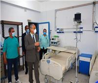 سكرتير عام محافظة جنوب سيناءيتفقد تجهيز مدرسة التمريض