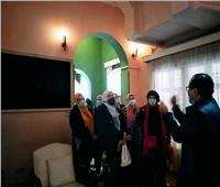 السياحة والآثار تنظم برنامج تعليم فن «الخيامية» لمحاربات السرطان