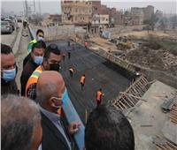 وزير النقل يتابع أعمال التطوير والصيانة الشاملة للطريق الدائري| صور