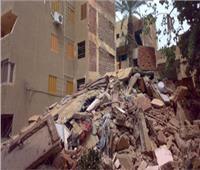قبل انهياره.. إخلاء عقار مكون 6 طوابق بالإسكندرية