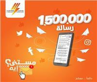 «الكهرباء» ترد على مليون و500 ألف رسالة عبر «الوشيال ميديا» في 2020