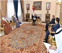«السيسي» لوزير خارجية الكويت: مصر حريصة على تطوير التعاون بين البلدين| فيديو