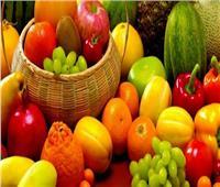 انخفاض أسعار الفاكهة في سوق العبور اليوم الأحد