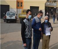 حملات مكثفة لمتابعة التزام المواطنين بارتداء الكمامات في بني سويف