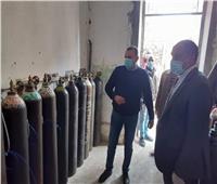 «رئيس مغاغة»: توفر مخزون كاف لأسطوانات الأكسجين بالمستشفى العام
