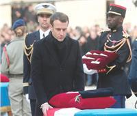 ماكرون يؤكد تمسك فرنسا بحربها ضد الإرهاب