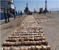 جمارك بورسعيد تحبط محاولة تهريب 8 أطنان حشيش و8 ملايين قرص كيبتاجون مخدر