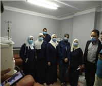 بدء العمل الفعلي في وحدة غسيل الكلى بمستشفى الأمين بطور سيناء