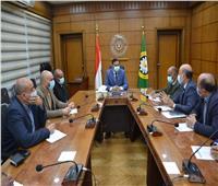 محافظ الدقهلية يلتقى مسئولي العربية للتصنيع بشأن مصنع تدوير القمامة