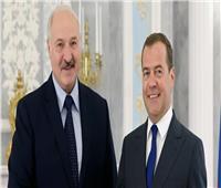 لوكاشينكو وميدفيديف يبحثان قضايا التعاون بين مينسك وموسكو