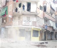 «البلكونة وقعت».. انهيار جزئي بأحد العقارات في الإسكندرية