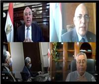 وزيرا الزراعة والري يناقشان موقف المشروعات المشتركة بين الوزارتين