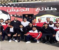 «ياسر» و«عبدالعزيز» و«السويركي» مع «بسيوني» في طلائع الجيش
