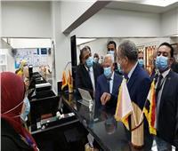 وزير التموين ومحافظ بورسعيد يفتتحان أول مركز تموين تكنولوجي