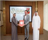 «الخطيب» يزور مقر جائزة محمد بن راشد آل مكتوم للإبداع الرياضي