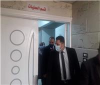 نائب محافظ القاهرة يتفقد مستشفى الفتح بميدان الخلفاوي