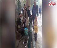 فيديو| احتفالات عيد الميلاد.. حديقة الحيوان فسحة مميزة للأسرة المصرية