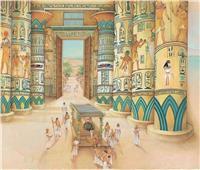 «الزخارف النباتية» في العمارة المصرية القديمة