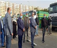 محافظ القاهرة يتفقد معدات هيئة النظافة الجديدة بقيمة 100 مليون جنيه