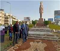 محافظ القاهرة يتفقد تطوير الجزيرة الوسطى بشارع صلاح سالم