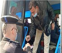 لعدم إرتداء الكمامة| محافظ القاهرة يحرر محضرا لمحصل اتوبيس نقل عام