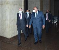 وزير الخارجية يطلع نظيره الأردني على تحضيرات اجتماع الرباعية غدا بالقاهرة