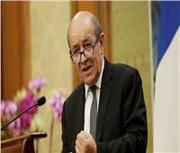 وزير خارجية فرنسا يشارك في الاجتماع الرباعي المخصص لعملية السلام بالقاهرة