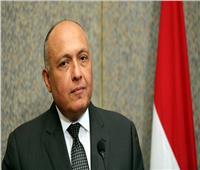 شكري يستقبل وزراء خارجية الأردن وفرنسا وألمانيا قبيل الاجتماع الرباعي