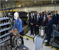 «الغضبان» ووفد المنظمة العربية للتنمية يتفقدون المشروعات الصناعية
