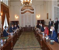 شكرى يبحث معنظيره الألماني القضايا الإقليمية وتعزيز العلاقات الثنائية