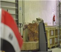 إعادة رأس «الملك».. عملية خاصة لفريق ترميم آثار «الأوزان الثقيلة».. فيديو