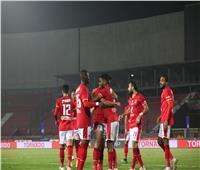 وليد سليمان يسجل الهدف الرابع في مباراة الإنتاج