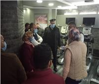 مصادرة ٨٣ شيشة وغلق ٧ منشآت لعدم الإلتزام بالإجراءات الإحترازية بالاسكندرية