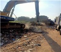 رفع 5 آلاف طن مخلفات وتراكمات من شوارع ترعة الزمر والإخلاص بالجيزة