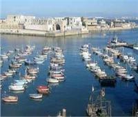 «النوة» تغلق ميناء الأتكة في السويس