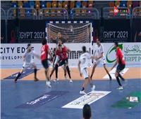 15 دقيقة.. مصر تتقدم على تشيلي في مونديال اليد