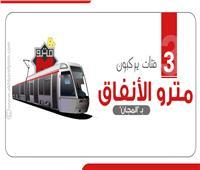 إنفوجراف| 3 فئات يركبون مترو الأنفاق بالمجان