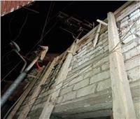 صور| إزالة في المهد.. إيقاف أعمال صب سقف خرساني بإحدى قرى المنيا