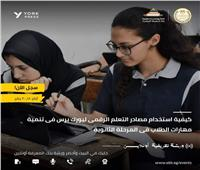 «شوقي» يطالب الطلاب والمعلمين التسجيل في ورشة العمل ببنك المعرفة