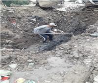 حل مشكلة مياه الشرب في «أبوصوير البلد» بالإسماعيلية | صور