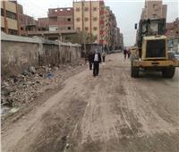 القضاء على تجمعات القمامة في حي ثان بالإسماعيلية | صور