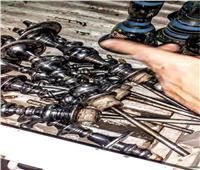 غلق ٣ مقاهي ومصادرة ٦٣ شيشة بحي شرق شبرا الخيمة بالقليوبية