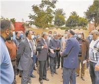 قطار تطوير قرى المنيا ينطلق من أبو قرقاص