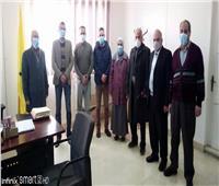 وصول دفعة جديدة من أطباء البرتوكول لمستشفى العريش