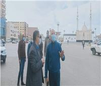 نائب محافظ القاهرة يتفقد أعمال النظافة بالمطرية
